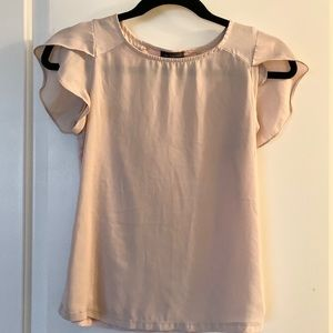The Limited Blush Blouse